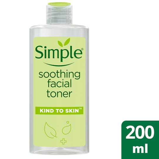 Simple kind to skin toner