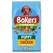 Bakers Puppy Dog Food Chicken And Vegetable 2.85Kg