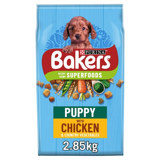 image 1 of Bakers Puppy Dog Food Chicken And Vegetable 2.85Kg