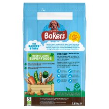 image 2 of Bakers Puppy Dog Food Chicken And Vegetable 2.85Kg