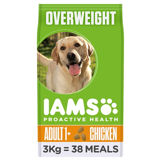 Iams Dog Food Adult Light In Fat Chicken 3Kg