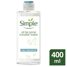 Simple Oilbegone Micellar Water Skin Face 400 Ml