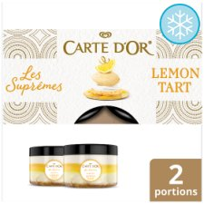 Carte D'or Les Supreme Lemon Tart Ice Cream Dessert 260Ml