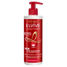 image 1 of L'oreal Paris Elvive Colour Protect Low Shampoo 400 Ml