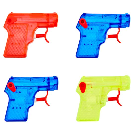 Tesco Net Bag Water Pistols 8Pk