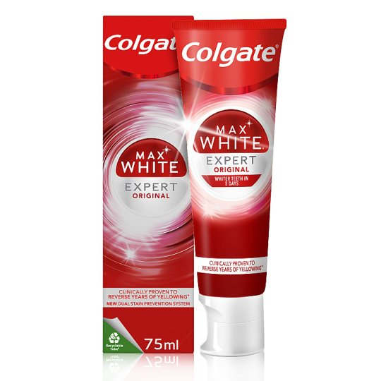 image 1 of Colgate Max Pearl Mint Whitening Toothpaste 75Ml