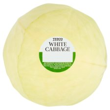 Tesco White Cabbage Each