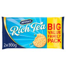Mcvities Rich Tea Biscuits 2 X300g