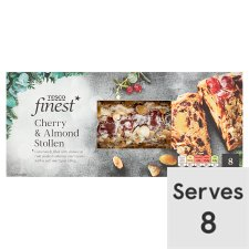 Tesco Finest Cherry And Almond Stollen