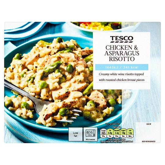 Tesco Chicken And Asparagus Risotto 385G
