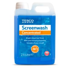Tesco Screenwash Concentrated 2.5L New