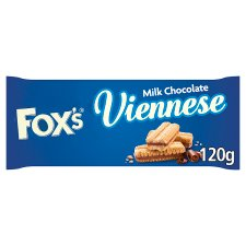 image 1 of Foxs Chocolate Viennese Biscuits 120G