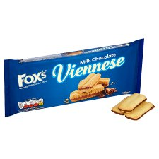 image 2 of Foxs Chocolate Viennese Biscuits 120G