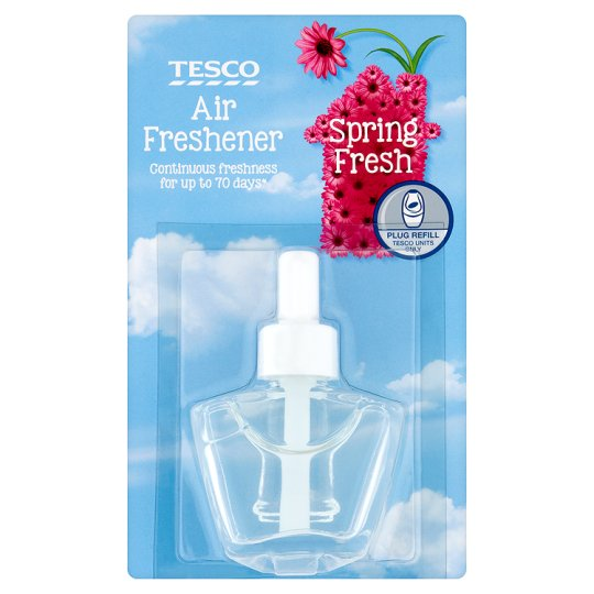 Tesco Plug In Air Fresh Refill Spring Fresh