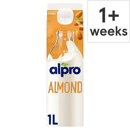 Alpro Almond Fresh Milk Alternative 1 Litre