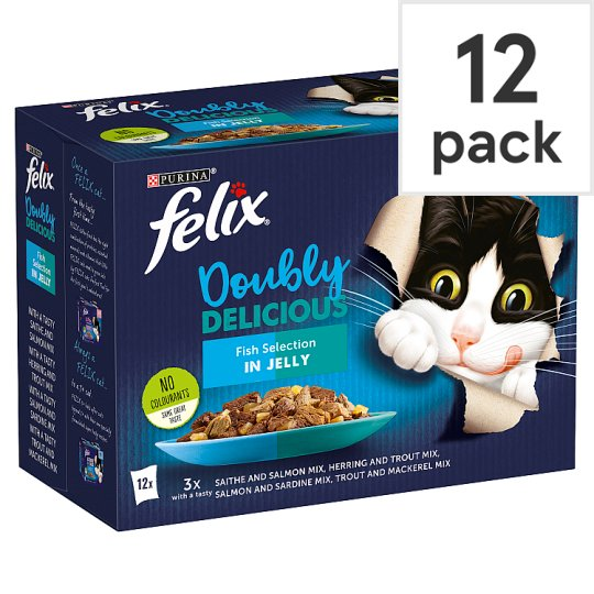 image 1 of Felix As Good As It Looks Cat Food Fish 12 X 100G