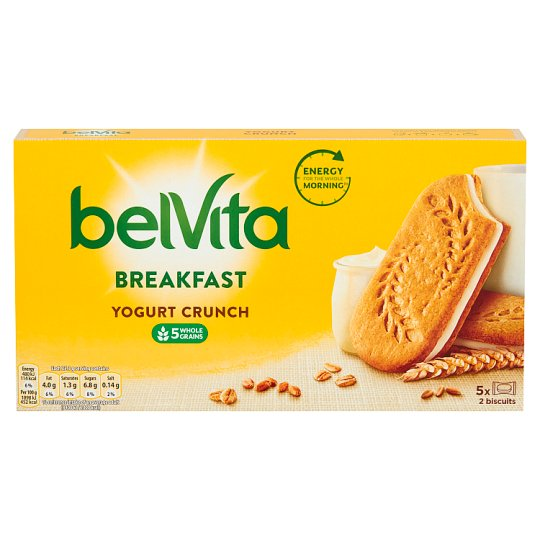 image 1 of Belvita Plain Yogurt Crunch 253G