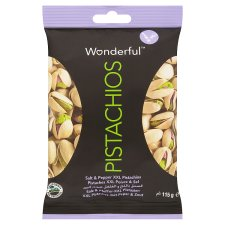 Wonderful Pistachios Salt And Pepper 115G