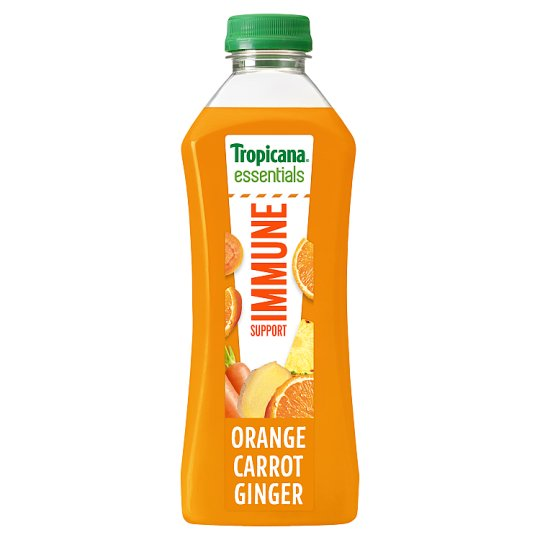 Tropicana Orange Carrot And Ginger Juice 750Ml