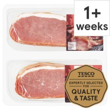 Tesco Smoked Twin Pack Back Bacon 2X360g