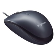 Logitech M90 Wired Mouse Black