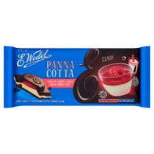 E Wedel Dark Chocolate And Panna Cotta Flavoured 100G