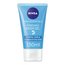 Nivea Daily Essential Refresh Facial Wash Gel 150Ml