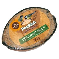 Peckish All Year Round Treats Coconut Half 250G