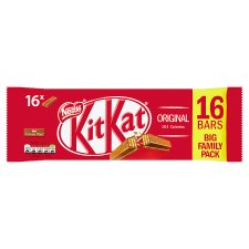 Kit Kat 2 Finger Milk Chocolate Biscuits 16 X 20.7G