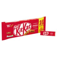 image 2 of Kit Kat 2 Finger Milk Chocolate Biscuits 16 X 20.7G