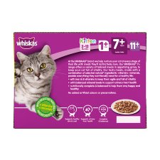 Whiskas 7+ Poultry Selection In Gravy 12X100g