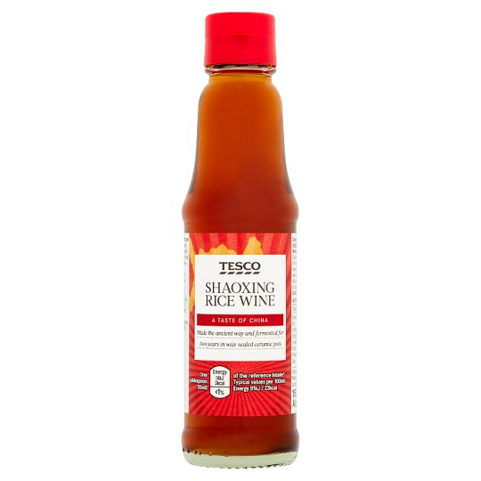 Tesco Ingredient Shaoxing Rice Wine 150Ml