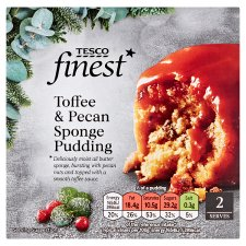 Tesco Finest Toffee And Pecan Sponge 200G
