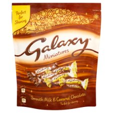 Galaxy Chocolate Minis Large Pouch 413.5G