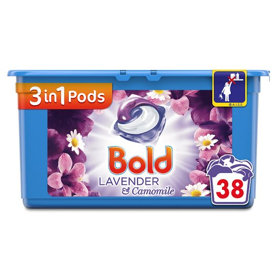 Bold 3In1 Pods Lavender 38 Washes