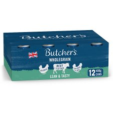 Butcher's Lean & Tasty Dog Food Tins 12X400g