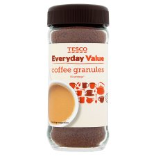 Tesco Everyday Value Coffee Granules 100G