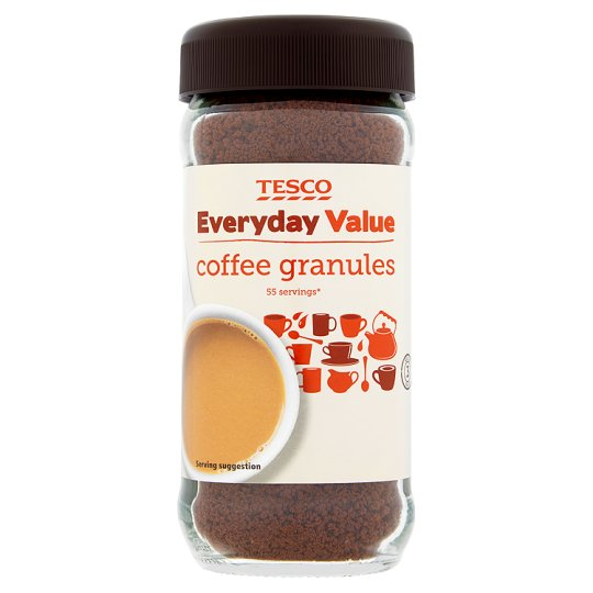 Tesco Everyday Value Instant Coffee 100G