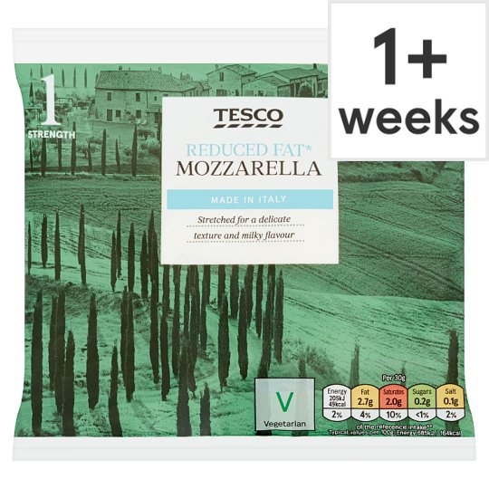 Tesco Reduced Fat Italian Mozzarella 125G