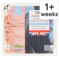 Tesco British Wafer Thin Honey Roast Ham 400G
