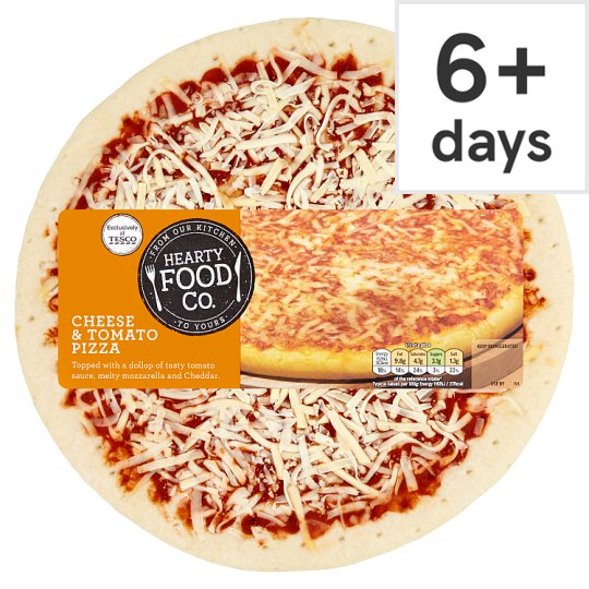 Hearty Food Company Cheese Pizza 300G