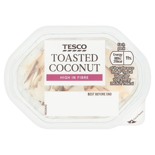 Tesco Toasted Coconut Snack Pot 30G