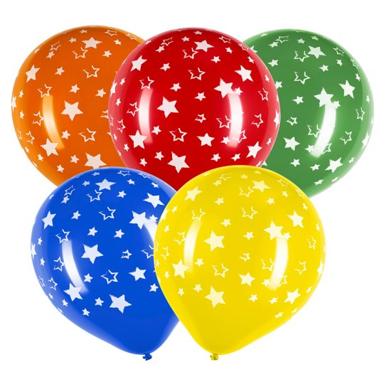Tesco Star Balloon 10 Pack