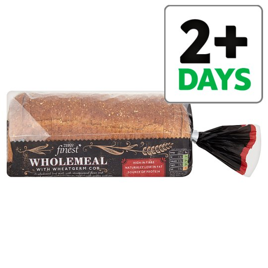 Tesco Finest Wholemeal With Wheatgerm Cob 800G