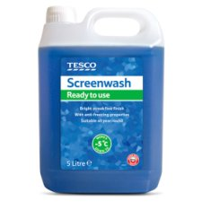 Tesco Screenwash Ready To Use 5L New