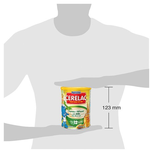 Nestle Cerelac Honey And Wheat Baby Food 12Mths 400G