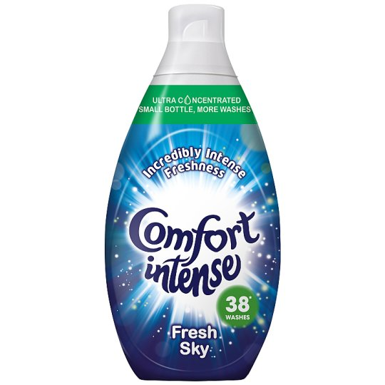 Comfort Intense Sky Fabric Conditioner 38 Wash 570Ml