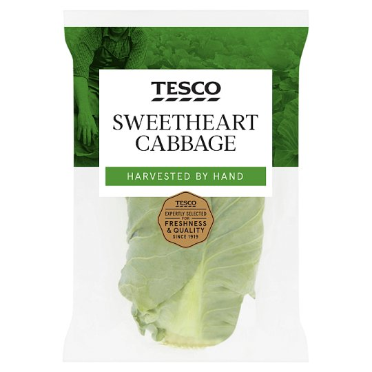 image 1 of Tesco Sweetheart Cabbage Each