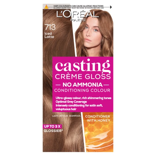 image 1 of L'oreal Paris Casting Creme Gloss 713 Iced Latte