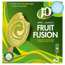 J20 Apple And Mango Fruit Fusion Smoothie 3 Pack 270Ml